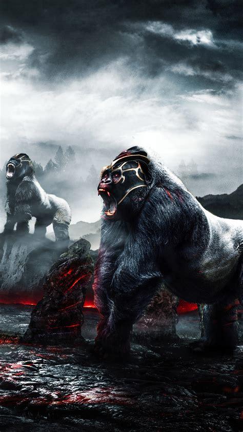 gorilla warriors  wallpapers hd wallpapers id