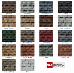 Timberline Roof Shingles Color Chart Bamil