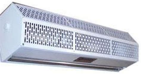 low profile air curtain 480 600v 3 phase unheated home