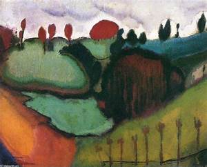 Landscape, Study for 'Paradise', Oil On Canvas by Marcel ...