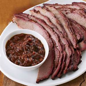 Barbecued Brisket And Burnt Ends Recipe