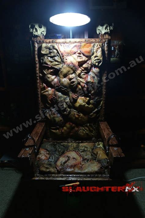 ed gein inspired electric chair   slaughter fx