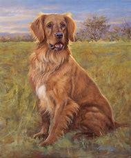 Golden Retriever Dog Painting