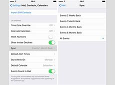 How to stop your iPhone or iPad from deleting old calendar