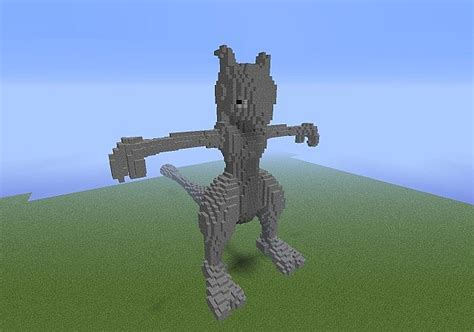 mewtwo statue included minecraft project