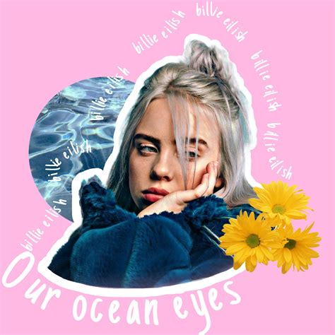 Billieeilish Oceaneyes Billie Eilish Singer Art