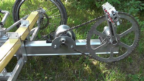 diy pedal generator  electric bike  trike youtube