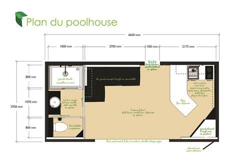 pool house plans pool house 20m2
