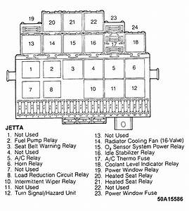 487d 99 Jetta Fuse Box Diagram