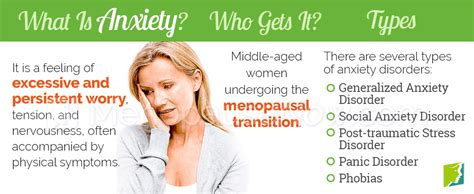Anxiety Symptom Information - Menopause Symptoms ...