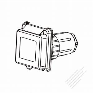 Tw Marine Grade Twist Locking Inlet Nema Ss2