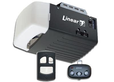 linear garage opener precision overhead garage door openers ta clearwater