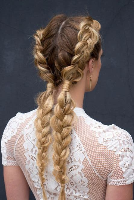 Braid Hairstyle by How To Do A Braid Easy Braid Tutorial