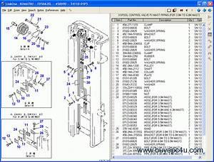 Komatsu Forklift Spare Parts Catalog