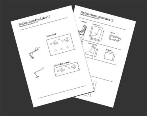 mame cabinet plans diy cabinet drawings pdf plans free