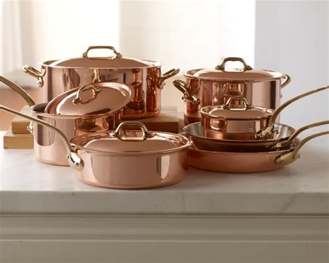 mauviel copper 12 cookware set williams sonoma