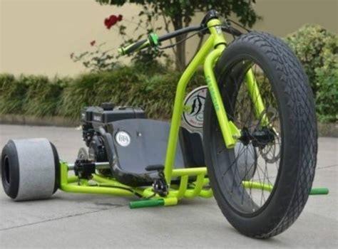 2015 Gsi Gas Powered Drift Trike Tricycle Bike Fat Ryder