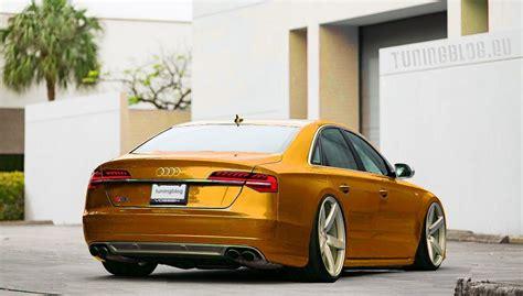 Audi A8 S8 Sur Vossen Wheels Par Tuningblog.eu
