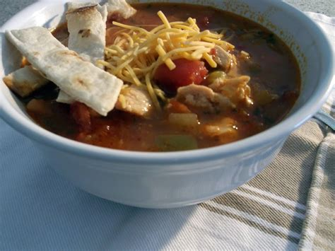 mexican chicken tortilla soup words of deliciousness