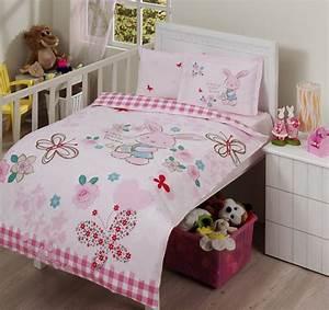 Bettwäsche Für Kinder : 3tlg pink rabbit bettw sche bettbezug kinder bettw sche f r kinder kinderbett ebay ~ Orissabook.com Haus und Dekorationen