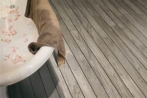 Parquet Quick Step Salle De Bain : quick step parquet flottant autre2 teck gris pont de ~ Zukunftsfamilie.com Idées de Décoration
