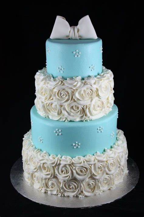blue cakes ideas  pinterest