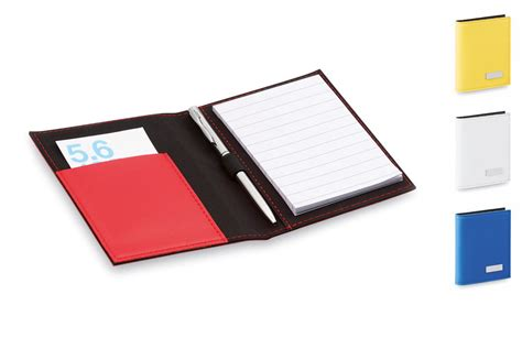 bloc note bureau bloc notes en similicuir et stylo à personnaliser pas cher