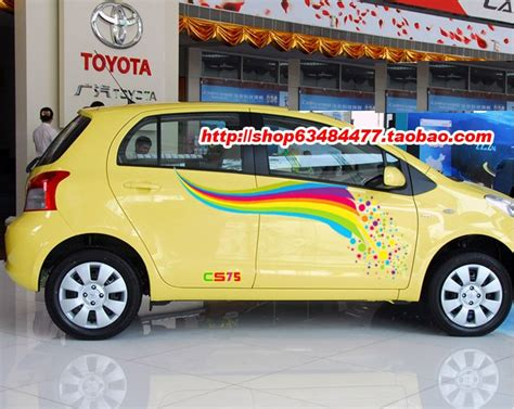 Rainbow Car Decals Promotion-shop For Promotional Rainbow