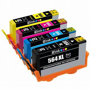 4PK New Gen 564XL 564 XL Ink Cartridge for HP Photosmart ...
