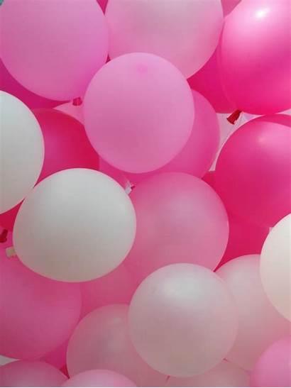Pink Balloons Background Balloon Jooinn Anniversary Found