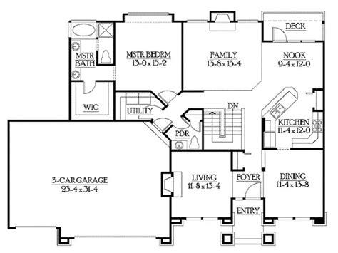 Nine ft ceiling main floor. 17 Best images about Rambler Floor Plans on Pinterest ...