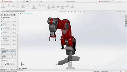 Robotic Solidworks Virtual Robotics Automation Robot Arm