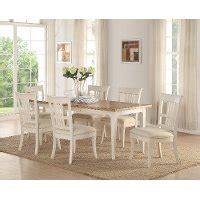 white wash  oak  piece dining set contemporary