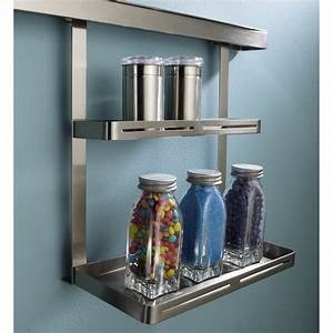 Etagere Metal Cuisine : etag re pour barre de cr dence m tal delinia leroy merlin ~ Premium-room.com Idées de Décoration