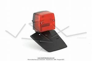 Plaque Immatriculation Mobylette : feu rouge arri re type peugeot 103 spx universel avec support de plaque d 39 immatriculation ~ Medecine-chirurgie-esthetiques.com Avis de Voitures