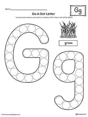 letter g do a dot worksheet alphabet letter g do a 679 | fff78b01d7c15d2a565b49007530de89