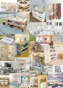 Idee Deco Avec Des Photos : idee deco avec palette bois ~ Zukunftsfamilie.com Idées de Décoration