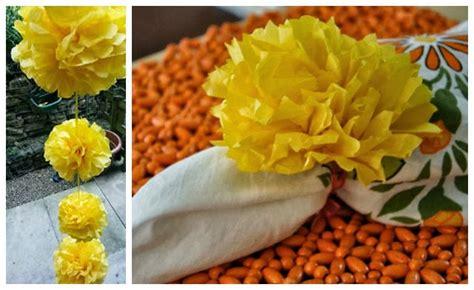 diy paper marigold flowers  dussehra  diwali artsy