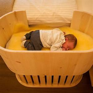 Bett Für Baby : zirben babynest am elternbett m bel aus zirbenholz ~ Watch28wear.com Haus und Dekorationen