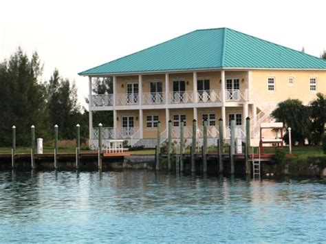 rare canal front bahamas luxury homes mansions