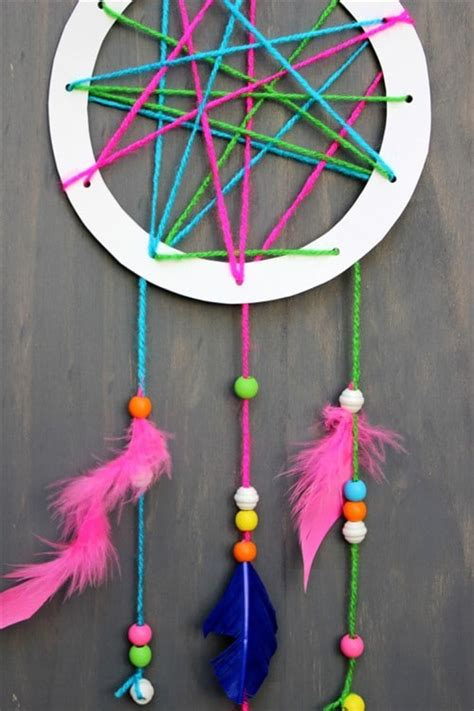 mothers day crafts  kids dream catcher