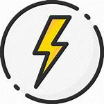 Icon Power Electric Energy Electricity Icons Iconfinder