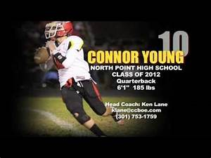CONNOR YOUNG 2010 Football Highlights - North Point High ...