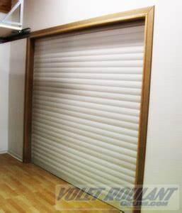 habillage coffre volet roulant interieur de la dperdition With porte de garage enroulable de plus renovation porte interieur