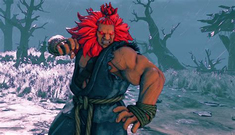 Street Fighter Akuma Master Of The Fist Street Fighter V