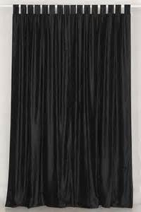black velvet curtains black colors
