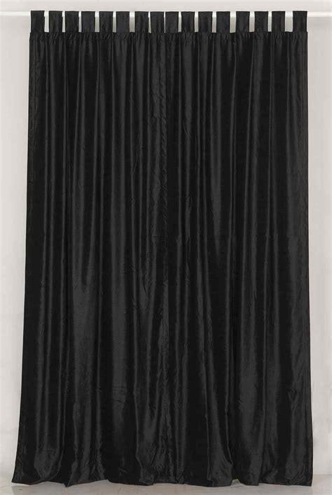 black velvet curtains black colors