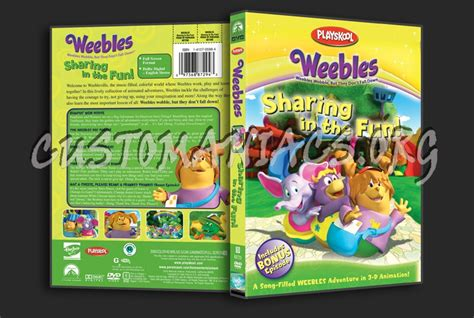 Weebles Sharing In The Fun! Dvd Cover