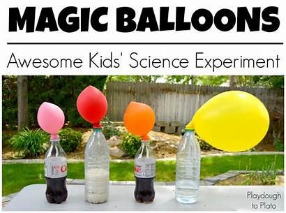 Science Experiment Balloons Magic Fun Cool Experiments