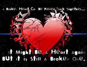 Broken Heart Qu... Heart Burst Quotes
